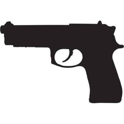 9mm Pistol Clipart - Clipart Suggest