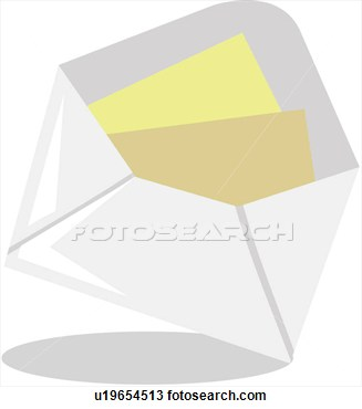 Clipart Of Admitting Card Or Stationery Items Stationery Supplies