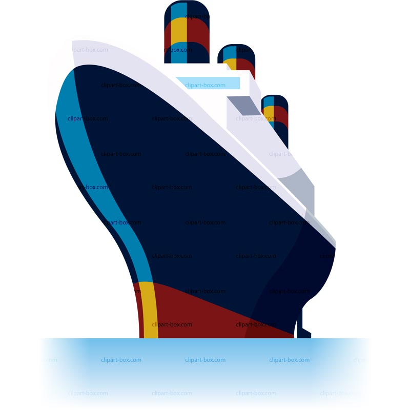 free clip art cartoon cruise ship - photo #14