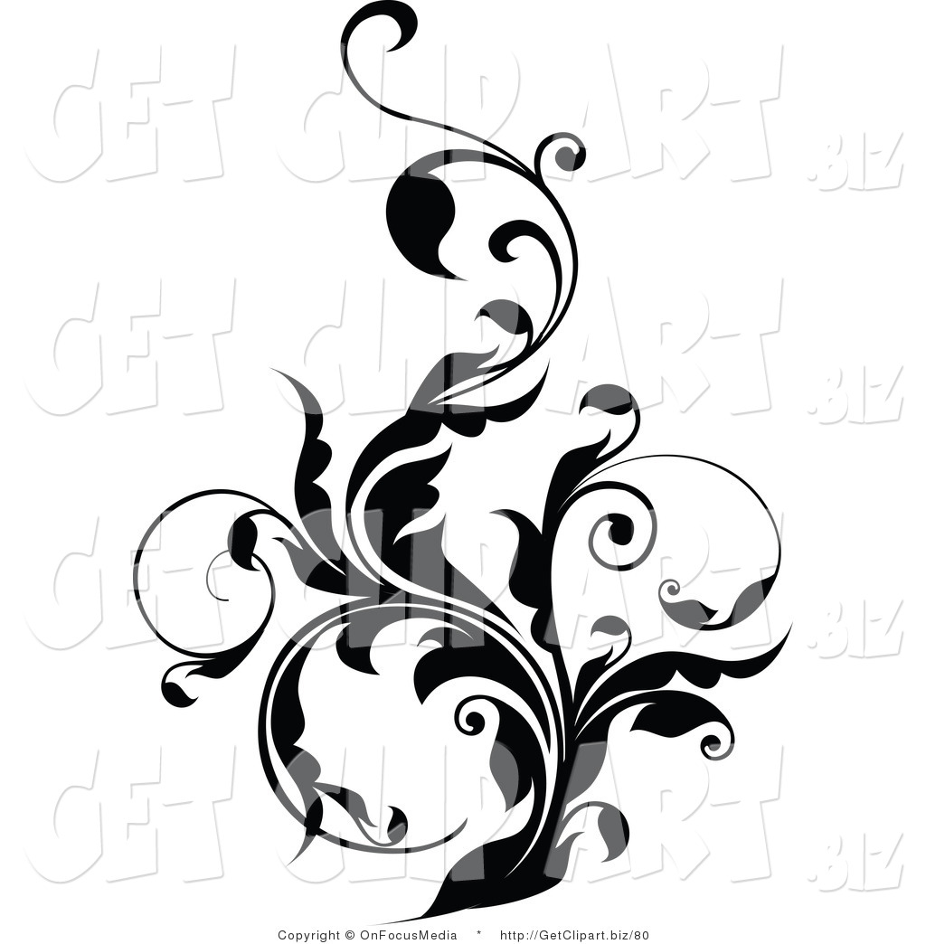 Joy Studio Design Gallery Best: Curly Designs Clipart