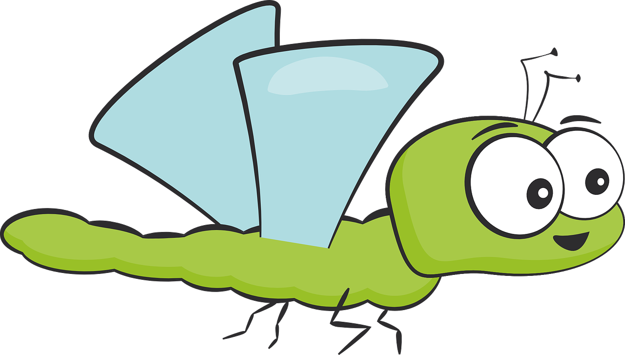 Cute Dragonfly Clipart - Clipart Kid