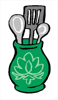 Free Kitchen Utensils Clipart   Free Clipart Graphics Images And