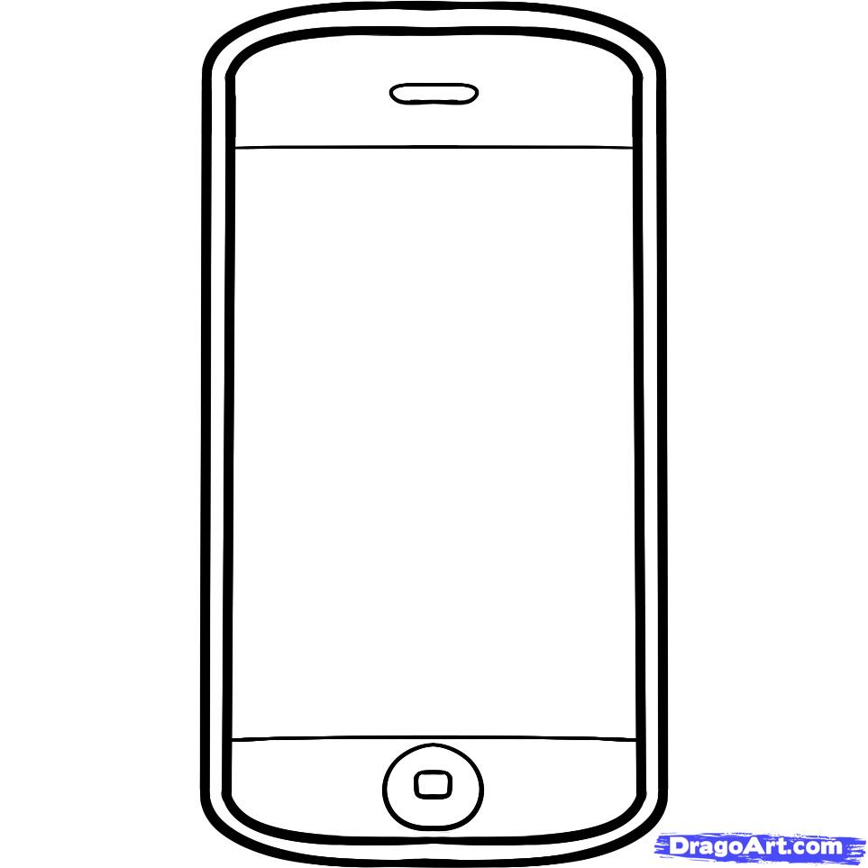 Iphone Coloring Pages Free Cliparts That You Can Download To You