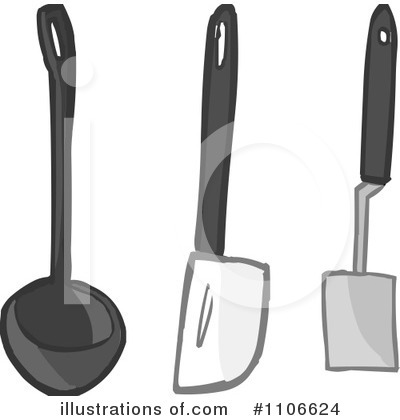 Kitchen Utensils Clipart  1106624 By Cartoon Solutions   Royalty Free