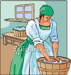 Pics For > Hand Wash Clothes Clipart