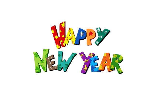 New Year Clip Art For Kids Downloads Added 15th December 2013 Cat New