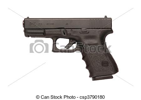 Photography Of Glock 9mm Handgun   Glock Automatic 9mm Handgun Pistol