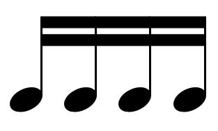 Sixteenth note - Wikipedia