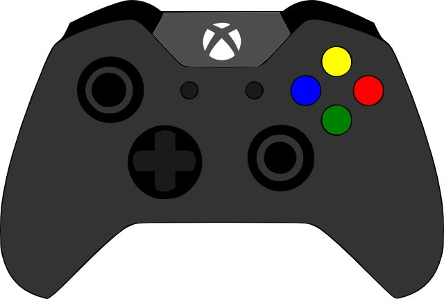 Xbox Controller Clipart - Clipart Kid