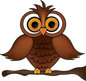 Printable Owl Large Size Clipart - Clipart Kid