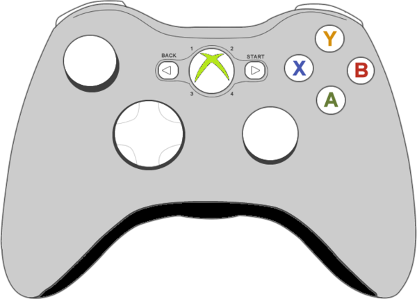 Xbox Controller   Free Images At Clker Com   Vector Clip Art Online