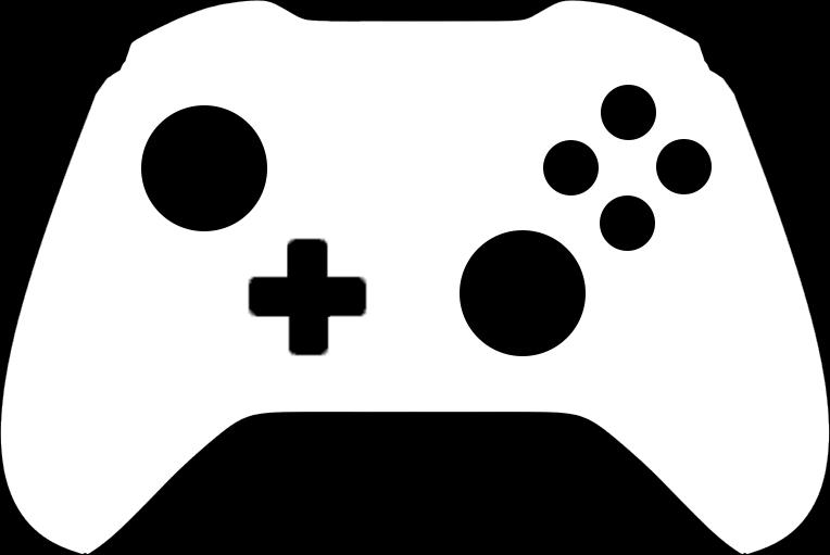 Black Xbox Icon Xbox Black And White C...
