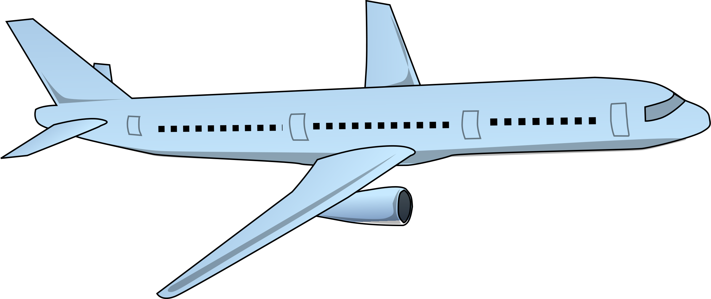 Airplane Clipart Transparent Background