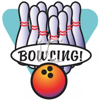 Bowling Clipart - Clipart Kid