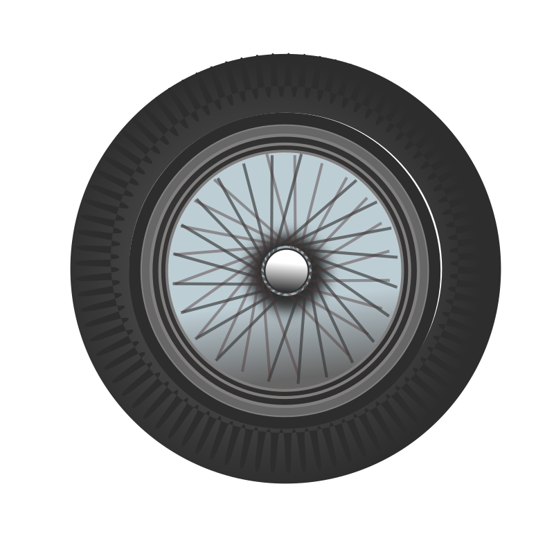 Classic Car Wheel By Netalloy   A Classic Car Wheel
