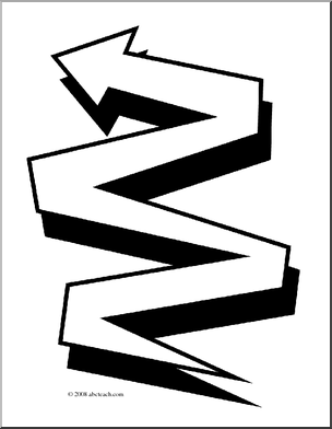 Zigzag clipart