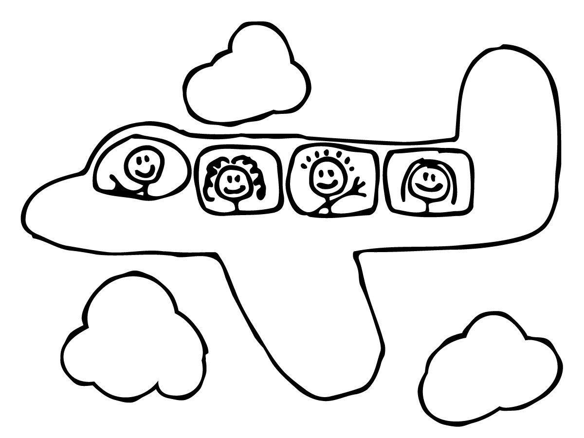 Cute Airplane Clipart   Clipart Panda   Free Clipart Images