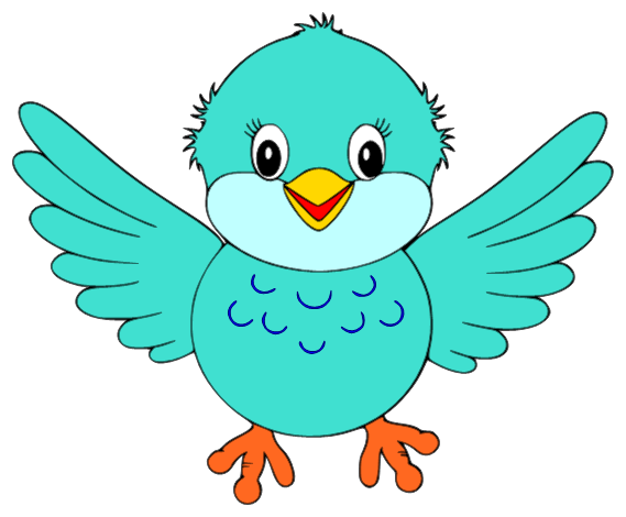 Cute Little Blue Bird Clipart Is Credited To Colorful Cliparts