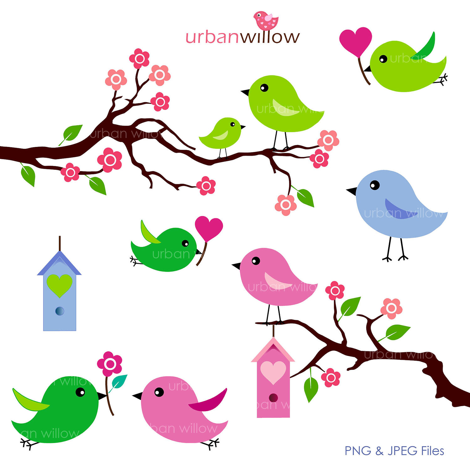 Cute Love Birds Clipart   Clipart Panda   Free Clipart Images