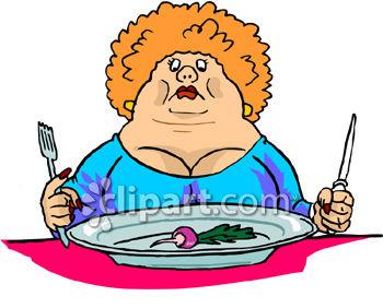 Fat Woman Clipart - Clipart Kid