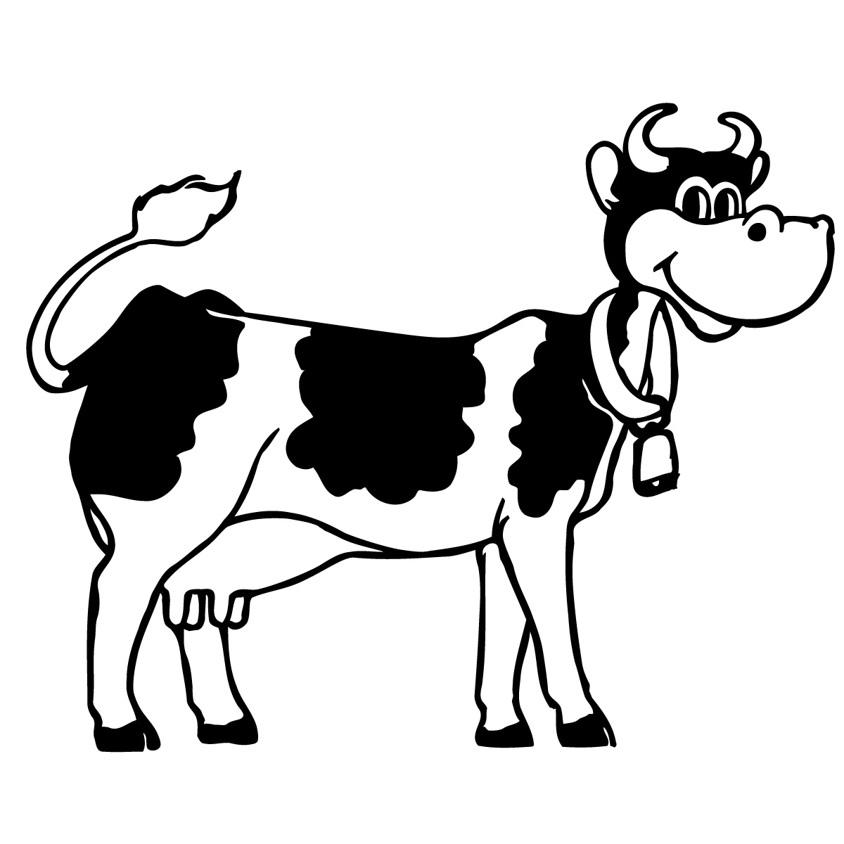 Funny Cow Cartoon Pictures   Clipart Best