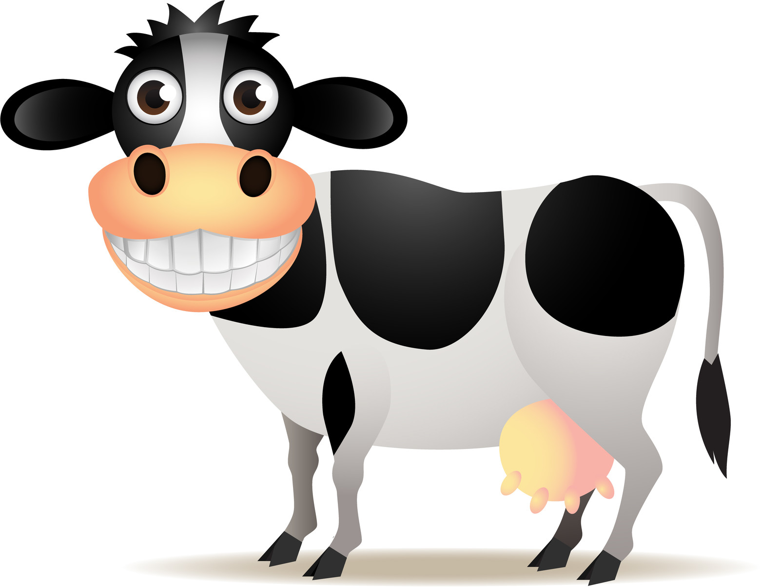 Funny Cow Clipart - Clipart Kid