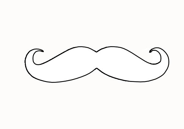 free vector mustache clip art - photo #30
