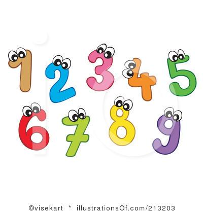 Clip Art Numbers Clip Art clip art numbers 1 10 clipart kid art
