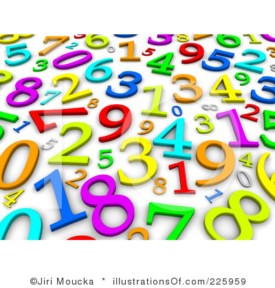 Numbers Clip Art Royalty Free Numbers Clipart Illustration 225959 Jpg
