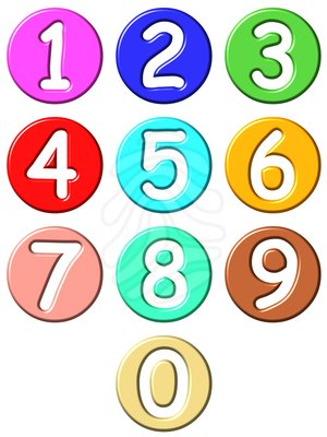 Numbers Clipart For Kids   Clipart Panda   Free Clipart Images