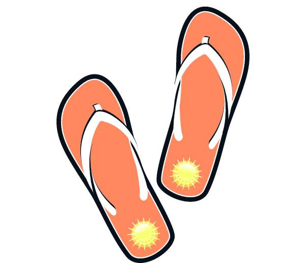 Clip Art Flip Flops Clip Art flip flop clipart kid sandals clip art images free for commercial use