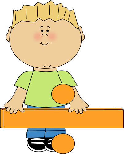 Standing Behind Math Division Sign Clip Art   Kid Standing Behind Math