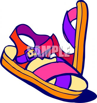 This Child S Sandals Clipart   Clipart Panda   Free Clipart Images