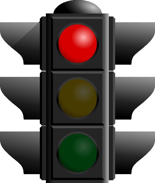 Traffic Light  Red Clip Art