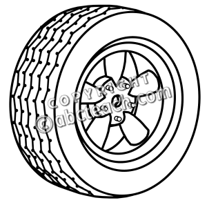 Wheel Clipart Tire Wheel Jpg Pw Png
