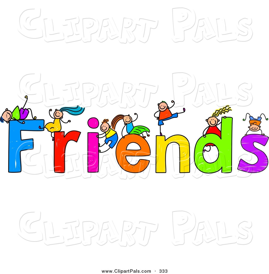 Word Friends Clipart   Cliparthut   Free Clipart
