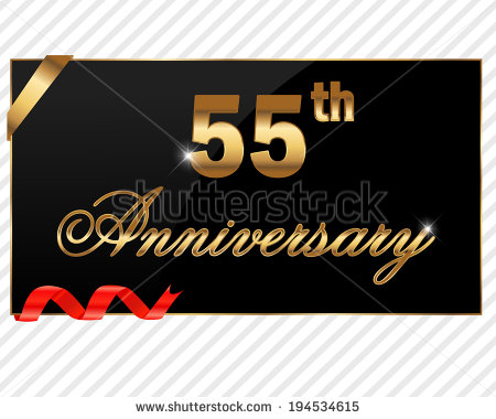 Happy 55th Anniversary Clipart Clipart Suggest