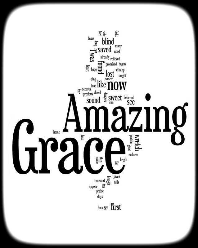 Amazing Grace Lyrics   Art Attack   Pinterest