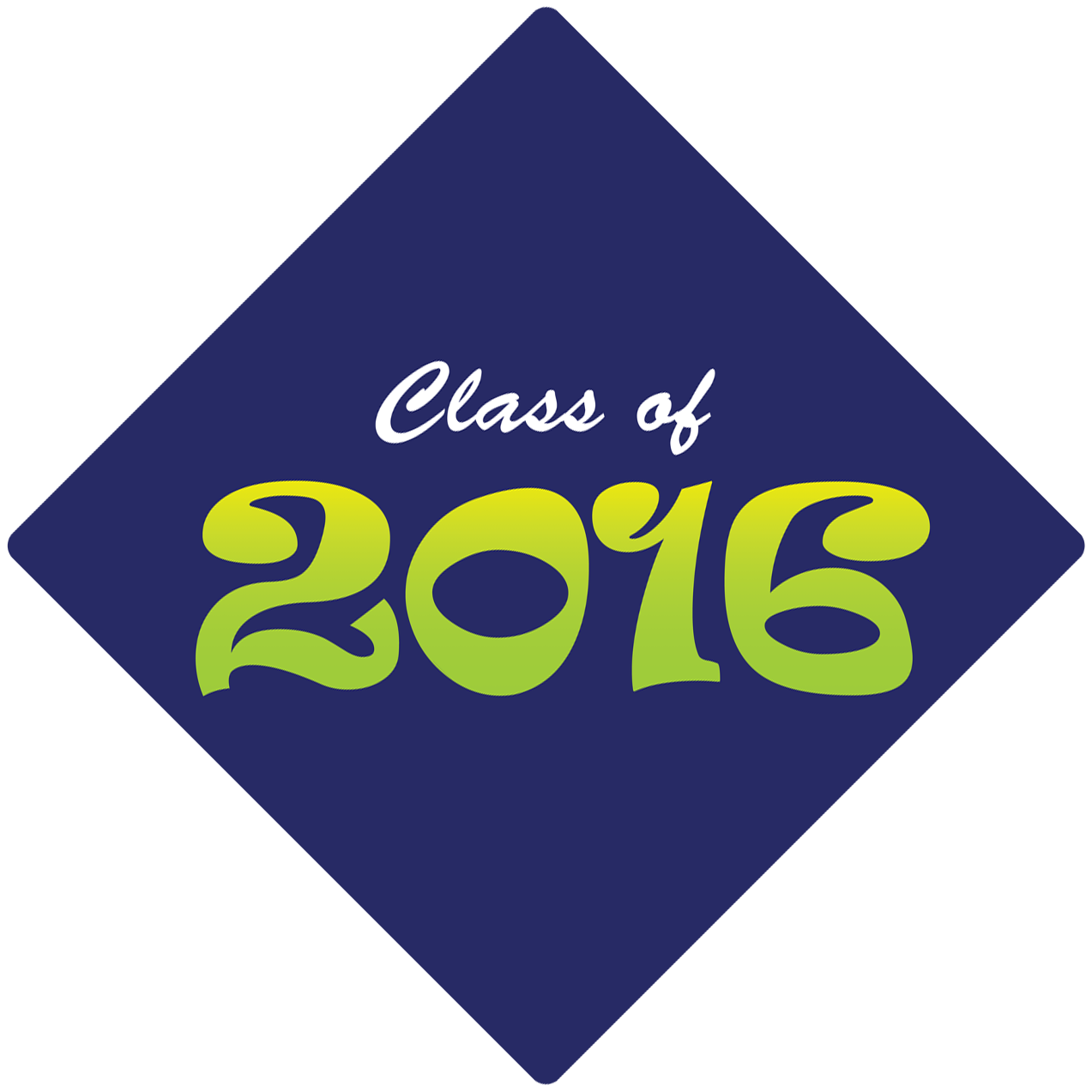 Class Of 2016 How To Decorate Your Graduation Cap Png