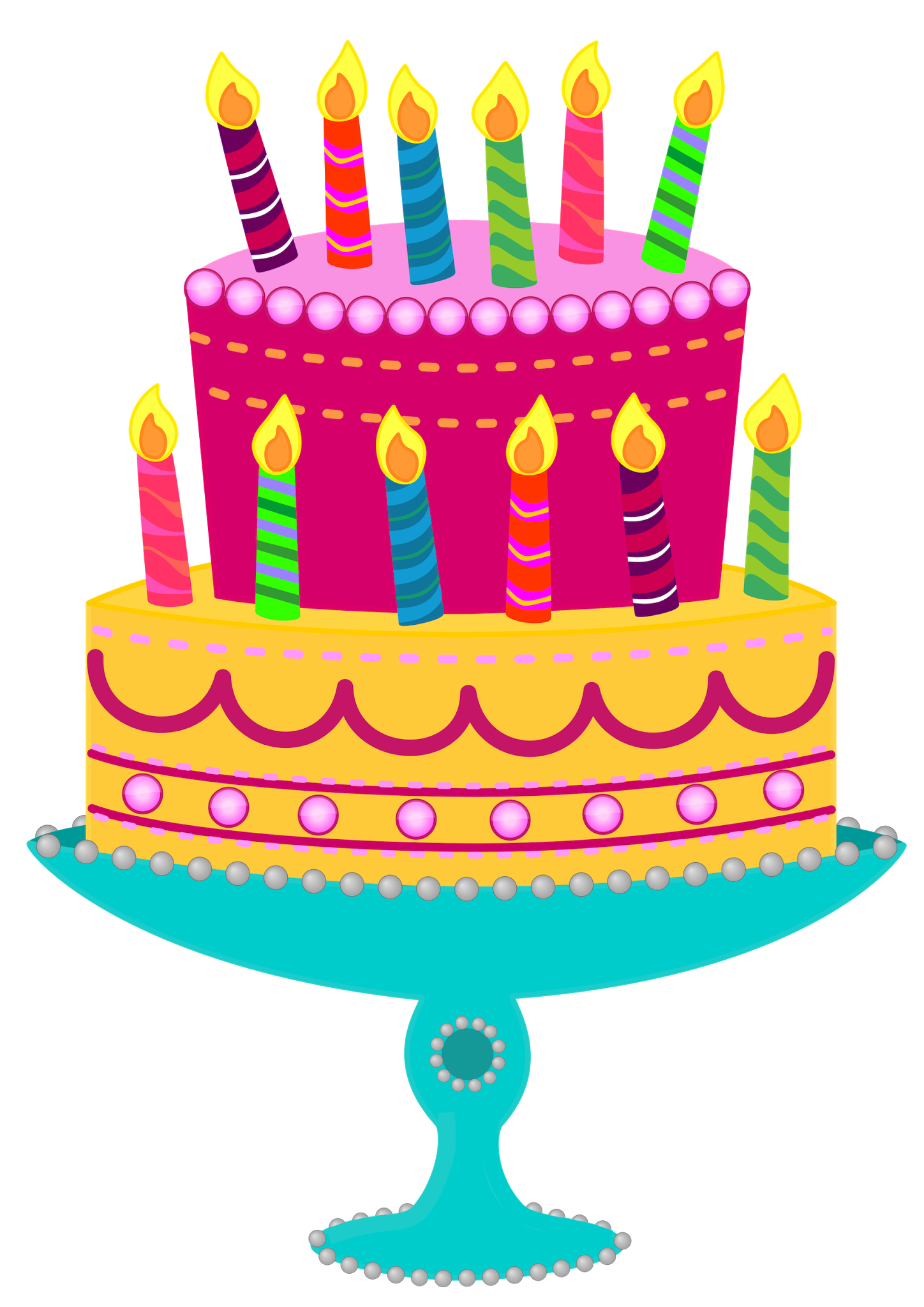 Free Birthday Cake Clipart - Clipart Kid