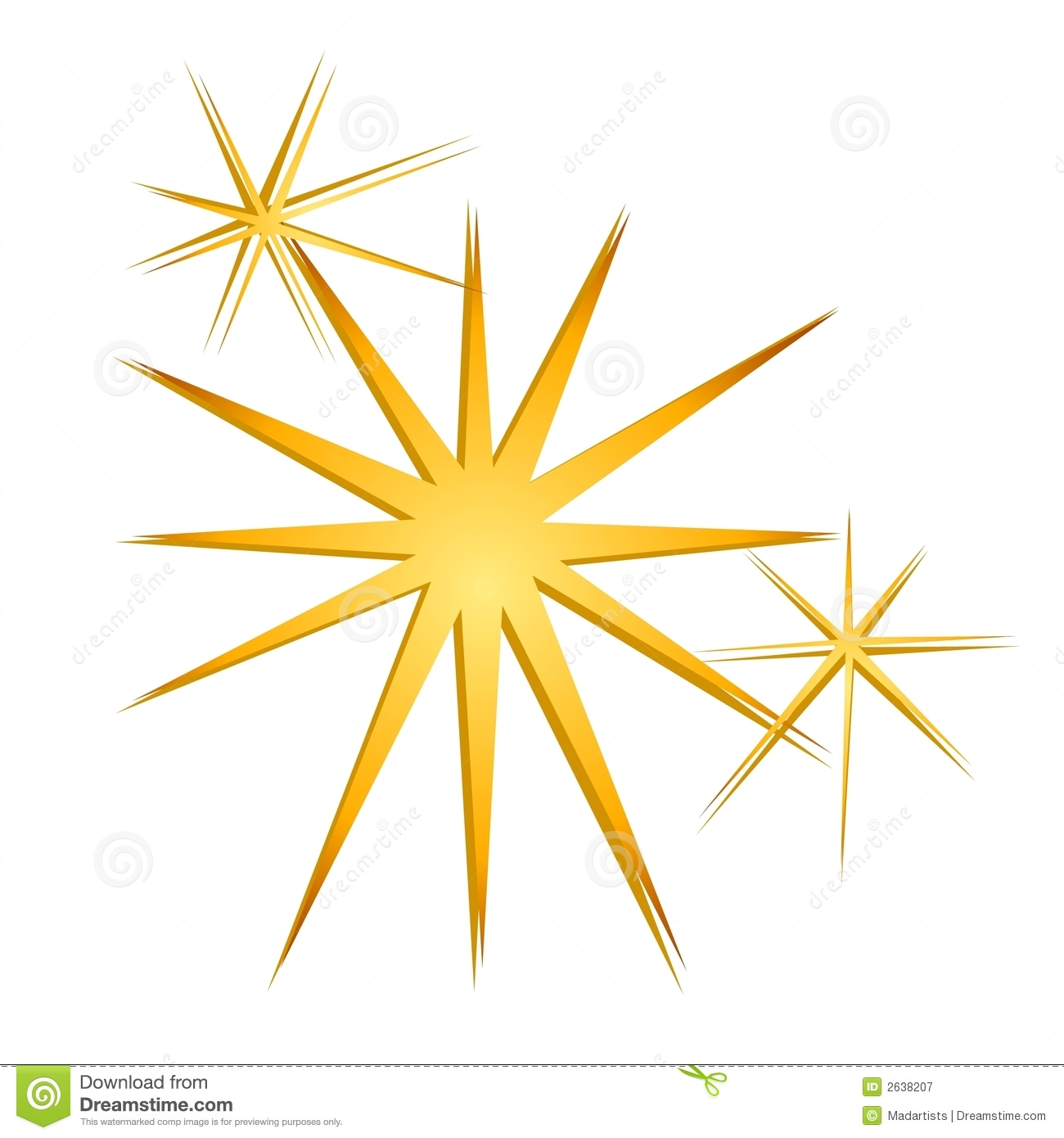 Glitter Sparkles Stars Gold Royalty Free Stock Photography   Image
