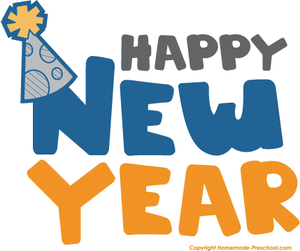 Happy New Year Images Clip Art   New Calendar Template Site