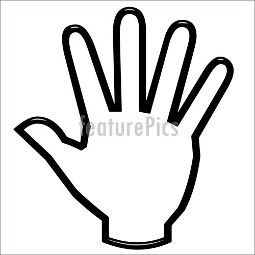 2 Fingers Hand Signal Clipart - Clipart Kid