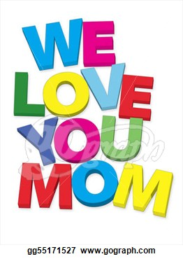 Love You Mom Clipart   Cliparthut   Free Clipart
