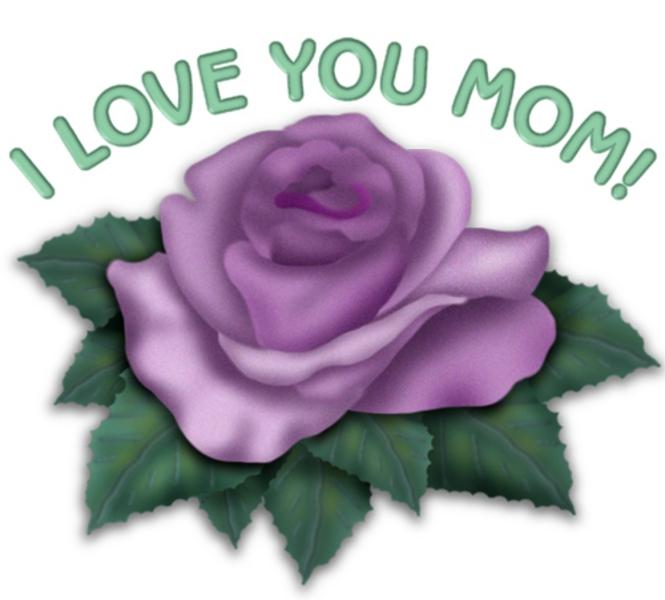 Love You Mom Clipart  I Love You Mom Clipart
