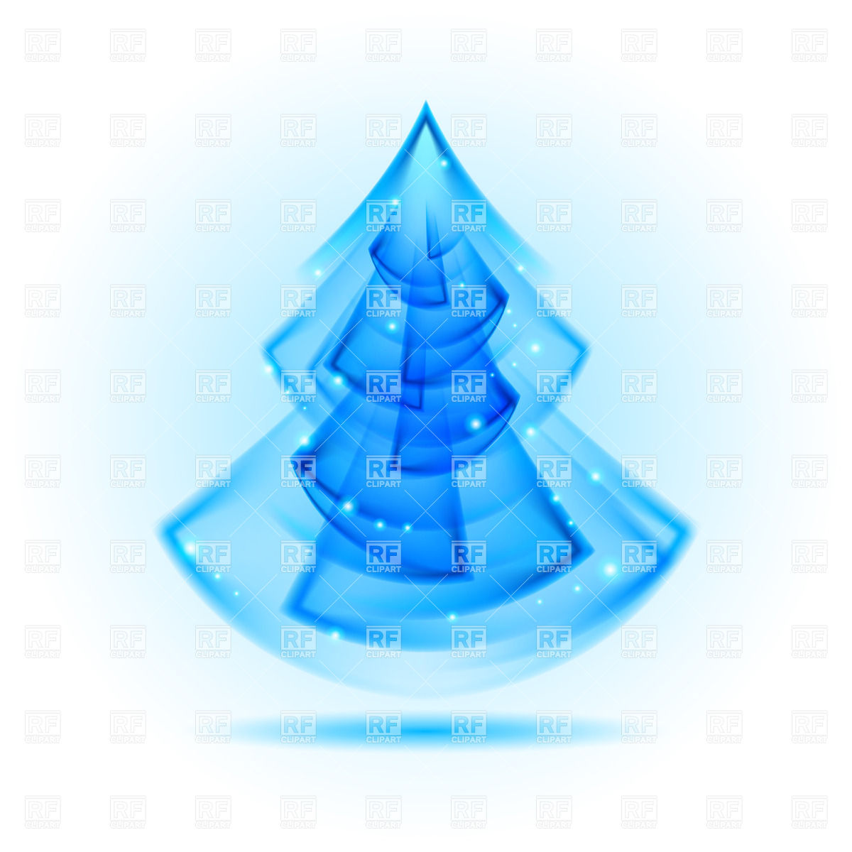 Modern Christmas Tree Clip Art Clip Art Free Christmas Tree