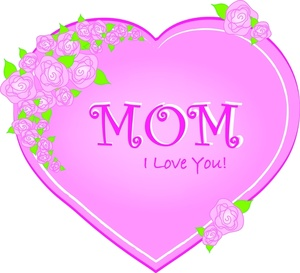 Mother S Day Cake Clip Art : Love You Mom Clipart - Clipart Suggest