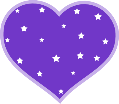 Purple Heart Star Clipart Purple Background Wallpapers On This Purple