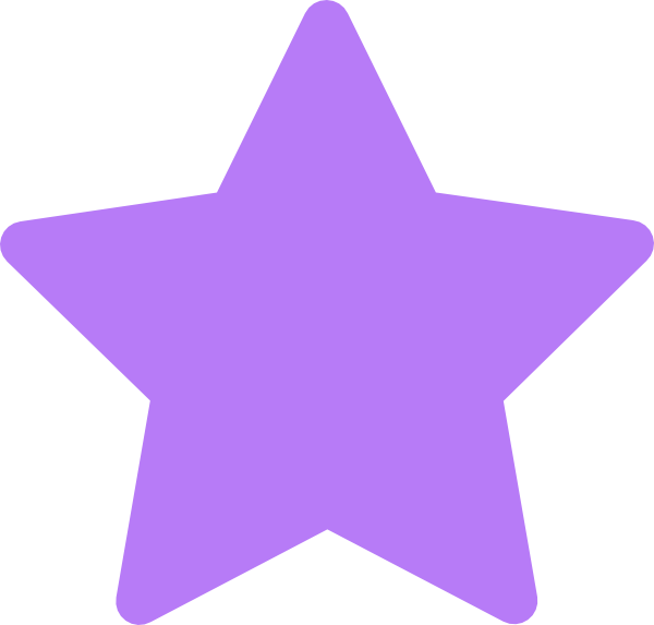 Star Purple Clip Art At Clker Com   Vector Clip Art Online Royalty