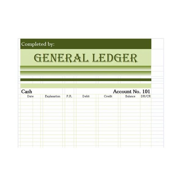 Accounting General Ledger Clipart Clipart Kid – General Ledger Template